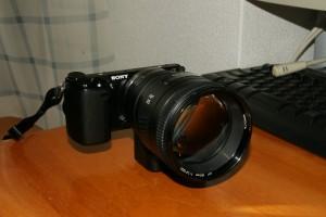 NEX-5R+LA-EA2+AF85mm F1.4G